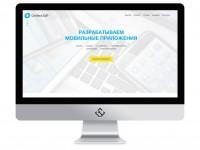 Сайт для разработчика мобильных приложений
