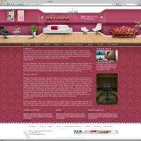 """Сайт визитка для гостиницы """"Малинки"""""""