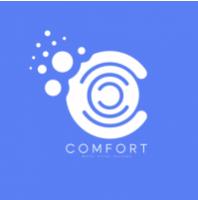 comfort logo concept