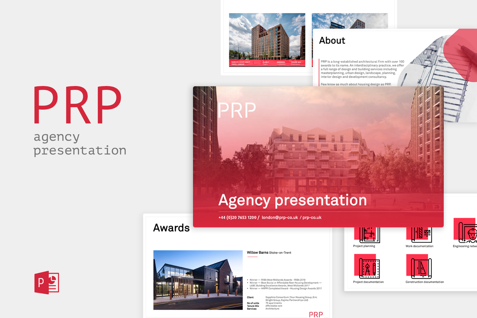 PRP // презентация архитектурного бюро