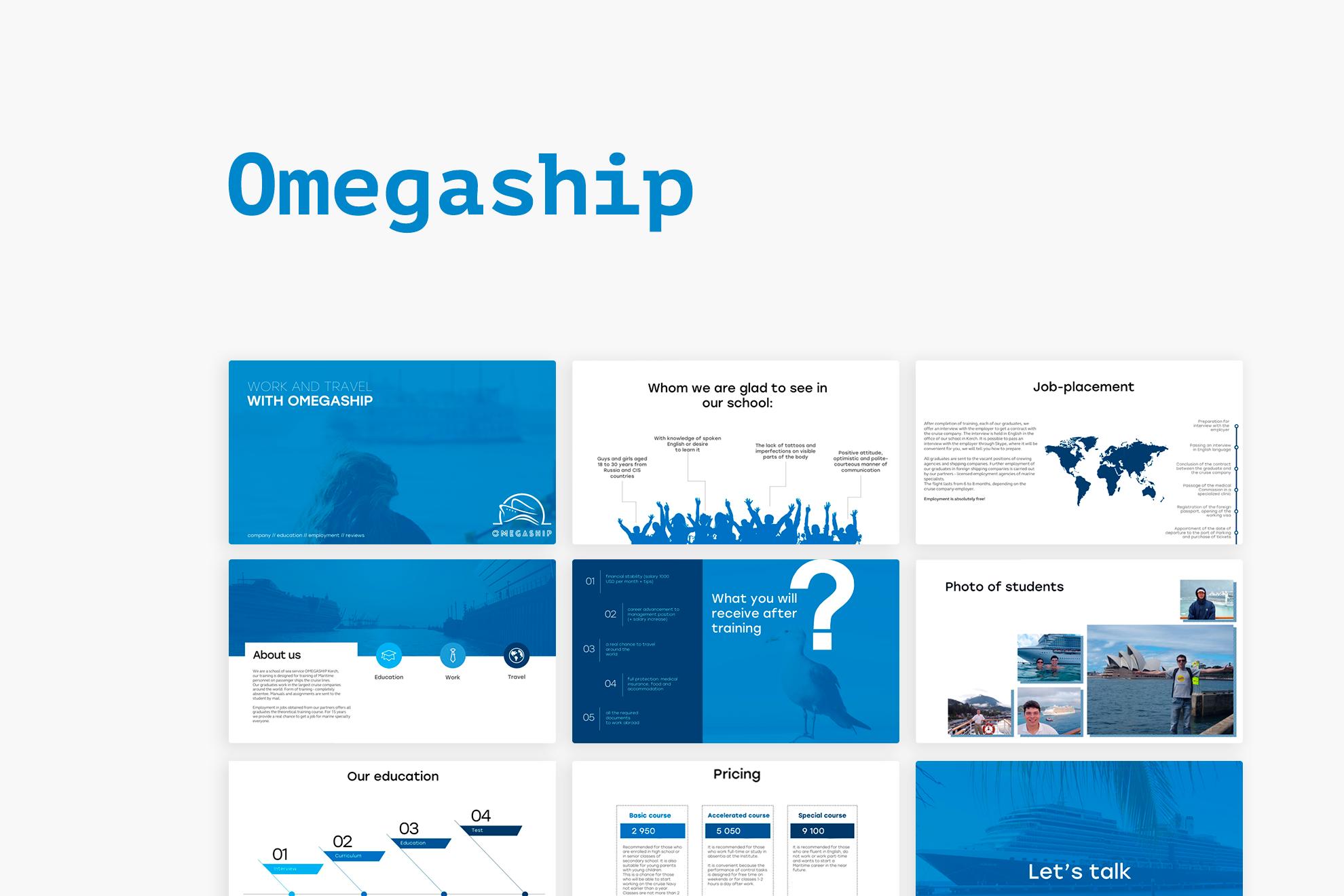 Omegaship // Презентация учебного центра (UK)