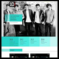 Лендинг -One Direction (Англо-ирландский бой-бэнд)