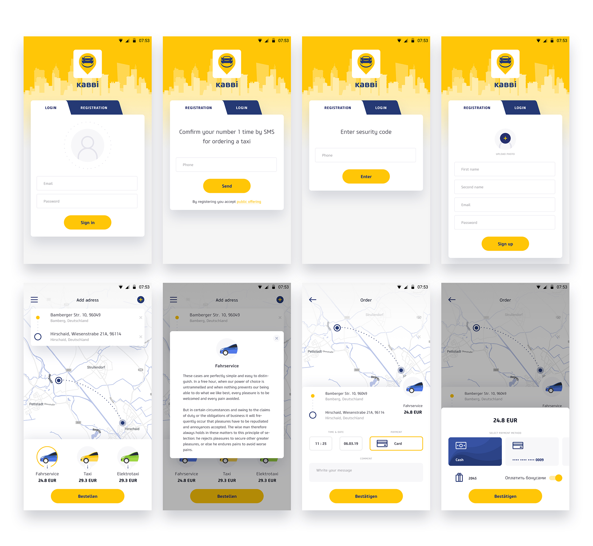 IOS   https://apps.apple.com/de/app/id1311333542    Android  https://play.google.com/store/apps/details?id=com.kabbi.c