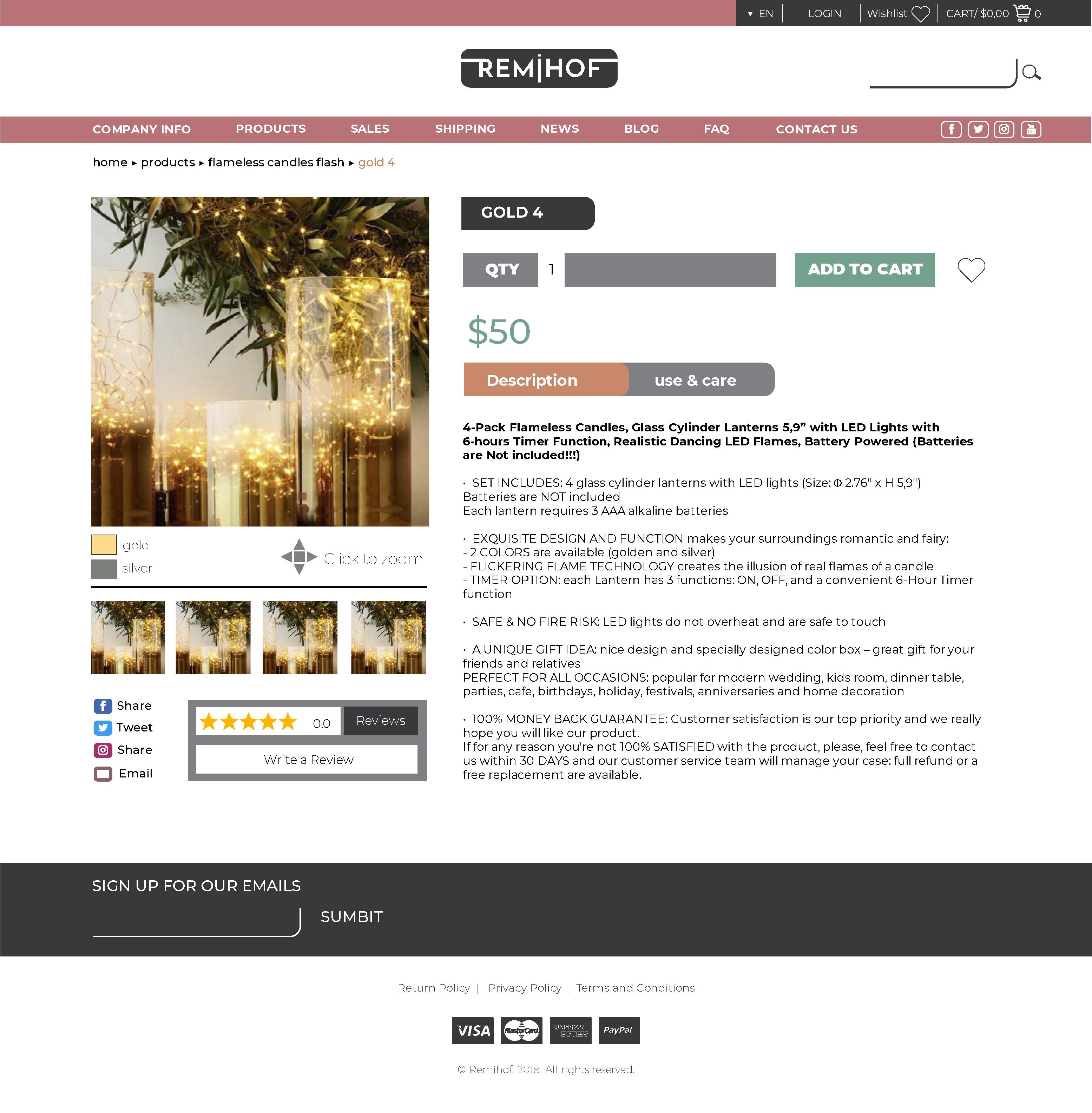 Remihof Amazon Saling  Web Project