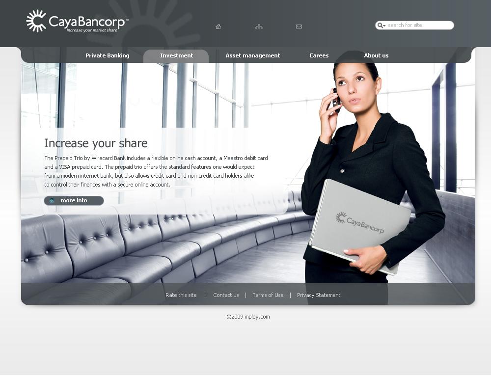 Дизайн Сайта Cayabancorp