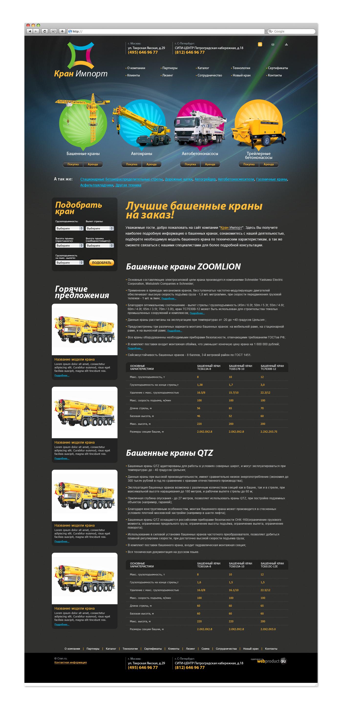 Сайт под ключ cran.ru