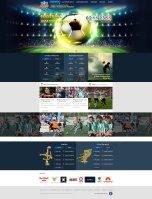 Сайт под ключ Футбол  в процессе разработке