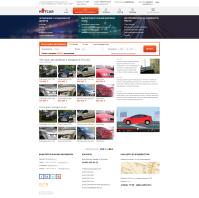 Дизайн Сайта www.hotcar.ru