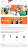 Дизайн сайта schoolmoda.ru
