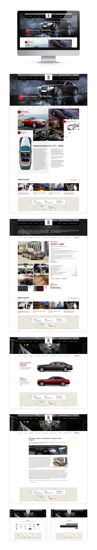 Разработка корпоративного сайта Rolls-Royce