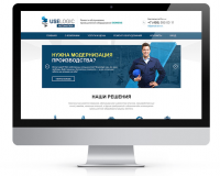 Корпоративный сайт компании USELOGIC