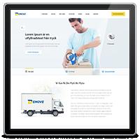 Дизайн сайта компании Demove