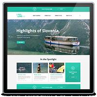 Розработка информационного сайта Slovenia