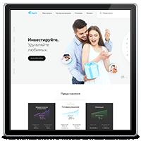 Дизайн инвестиционной онлайн-платформы СapEX