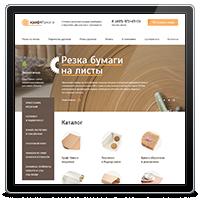 Корпоративный сайт Московского центра Крафт