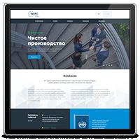 Корпоративный сайт компании NCPC