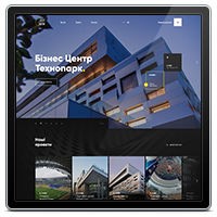 Дизайн корпоративного сайта компании ES-System