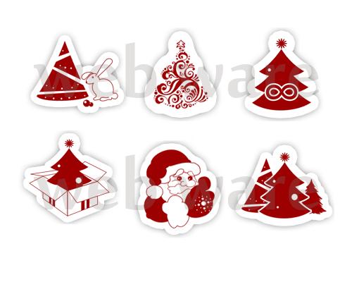 Иконки для сайта по продаже новогодних искусственных елок