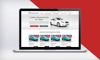 Дизайн сайта для сервиса по аренде авто