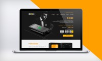 "Дизайн Landing Page ""Zhuse - 2 в 1 портмоне и аккумулятор power bank"""