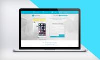 Дизайн Landing Page по скупке iPhone
