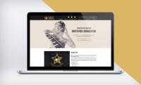 Дизайн сайта творческой студии Виктории Ковальчук