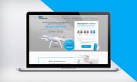 "Дизайн Landing Page ""Квадрокоптер SYMA X5SC"