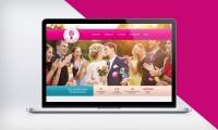 """Дизайн Сайта свадебных торжеств """"Я с тобой"""""""