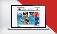 Дизайн сайта спортивной школы №76 МОСКОМСПОРТА (с версией для слабовидящих)