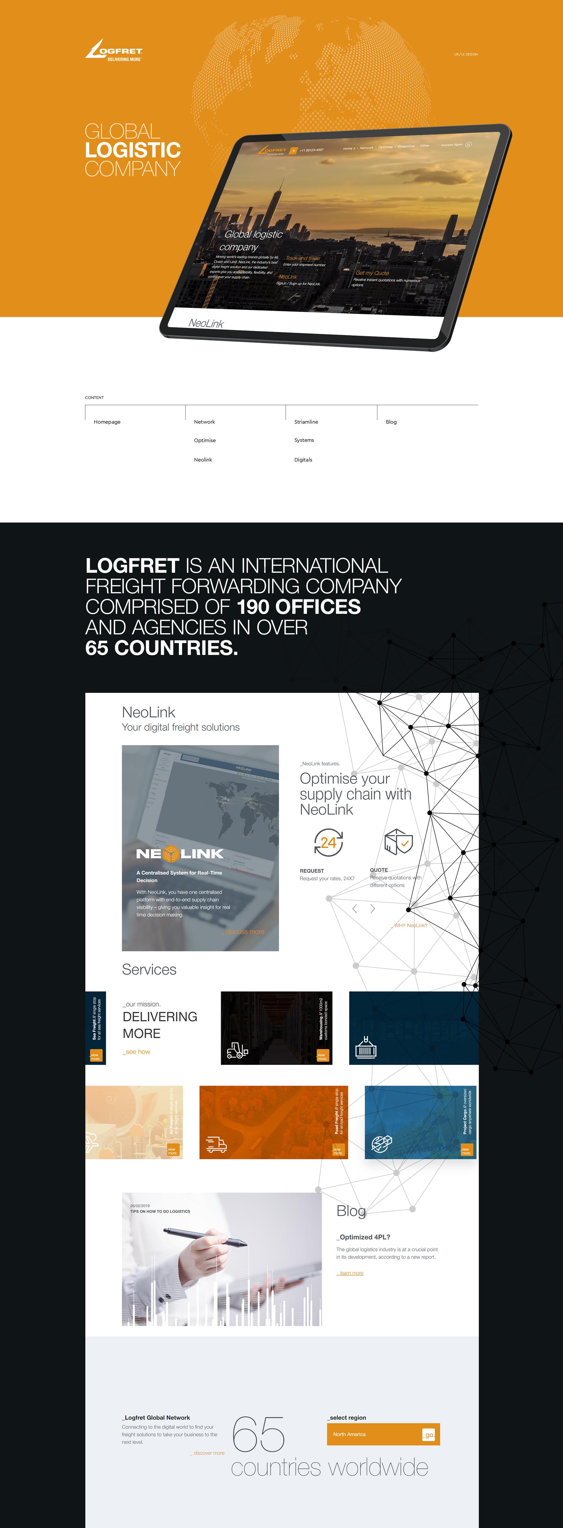Logfret логистическая компания