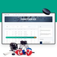 PYI, платформа бронирования поля для хоккея