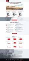 Корпоративный сайт HINO (TOYOTA GROUP) - создание с нуля