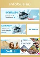 Дизайн шапок VK, FB и аватара Instagram // infobus.eu