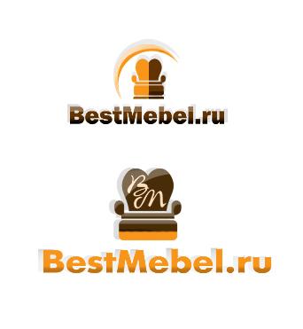 лого мебельного магазина.  Зураб Хубаев webvirtuoso.