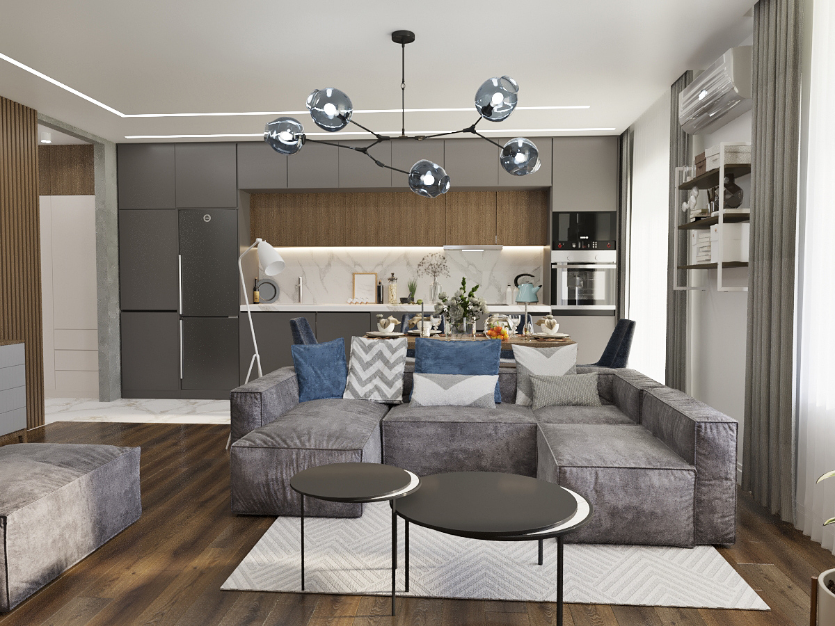 Дизайн и визуализация гостинной комнаты частного дома. фото f_6195f44b6c1444a1.jpg