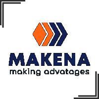 """Разработка логотипа и стиля для компании """"Makena"""""""