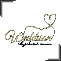 """Разработка логотипа для Свадебной Студии """"WEDDISON"""""""