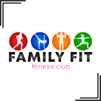 "Разработка логотипа для семейного фитнес-центра ""Family Fit"""
