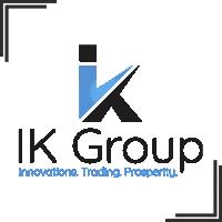 """Разработка логотипа для маркетингового агенства """"IK group"""""""