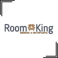 """Разработка логотипа для мебельного магазина """"Room King"""""""