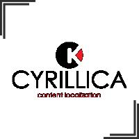 """Разработка логотипа и маркетинг кита для студии локализации контента """"Cyrillica"""""""