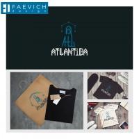 """Разработка логотипа для молодежного бренда одежды """"Atlantida"""""""