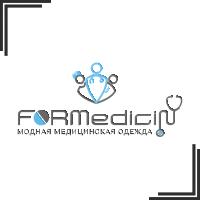 """Разработка логотипа для производителя медецинской одежды """"FORMedecin"""""""