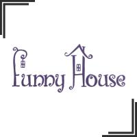 """Разработка логотипа для организаторов детских праздников """"Funny House"""""""