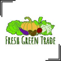 """Разработка логотипа для компании занимающейся поставками овощей """"Fresh Green Trade"""""""