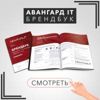"""Разработка Брендбука для консалтинговой компании """"Авангард"""""""