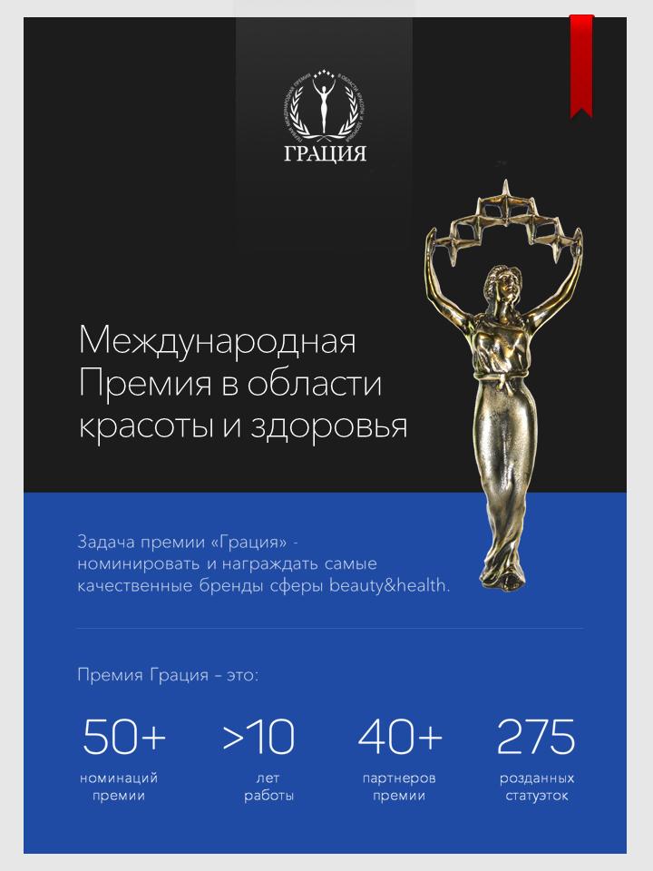 Презентация Всероссийской Премии Грация