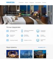 Responsive-сайт самого крупного в России поставщика оборудования для отелей