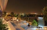 Ночная визуализация балкона в многоэтажке