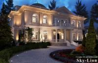 Ночная визуализация дома